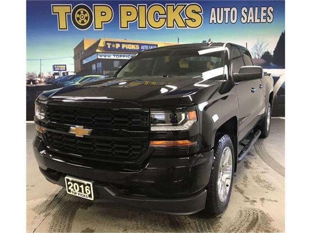 2016 Chevrolet Silverado 1500 Silverado Custom (Stk: 301517) in NORTH BAY - Image 1 of 15