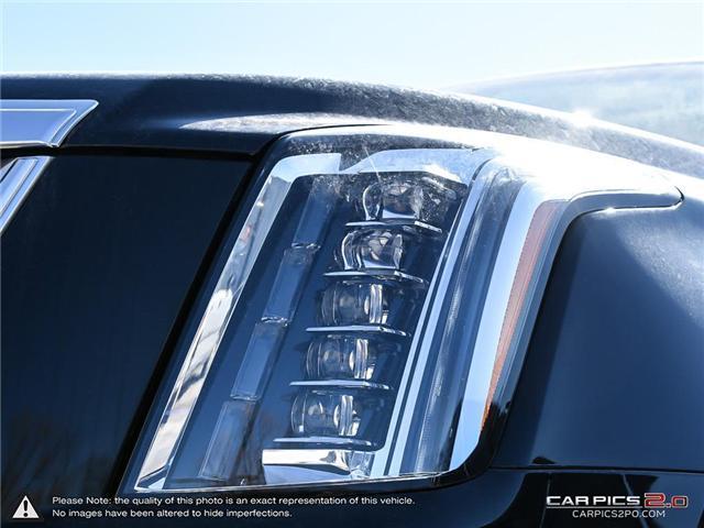 2018 Cadillac Escalade ESV Premium Luxury (Stk: K8K065) in Mississauga - Image 10 of 27