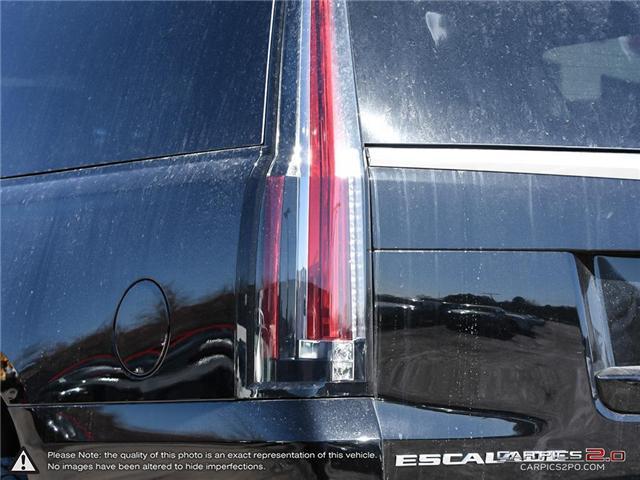 2018 Cadillac Escalade ESV Premium Luxury (Stk: K8K065) in Mississauga - Image 12 of 27
