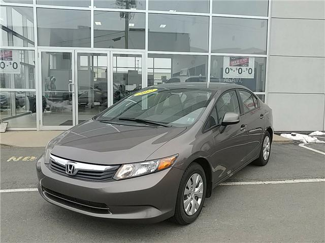 2012 Honda Civic LX (Stk: U0240) in New Minas - Image 1 of 20
