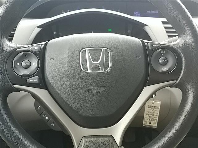 2012 Honda Civic LX (Stk: U0240) in New Minas - Image 18 of 20