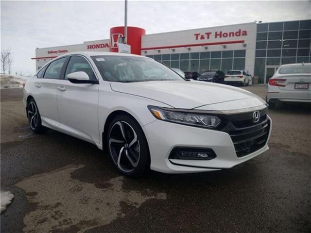 2018 Honda Accord Sport (Stk: 2180662) in Calgary - Image 1 of 9