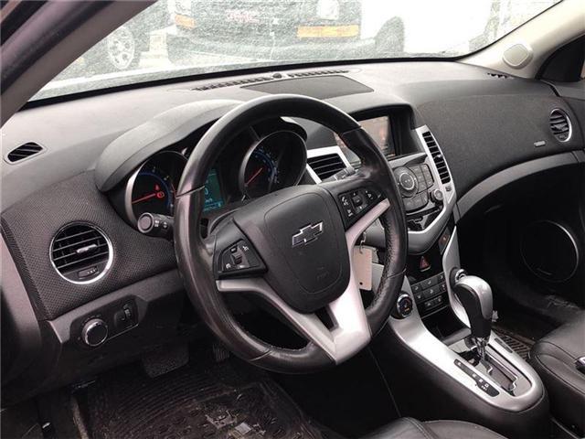 2016 Chevrolet Cruze 2LT, HTD LEATHER, ROOF, PIONEER, BLUETOOTH (Stk: 235450B) in BRAMPTON - Image 9 of 17