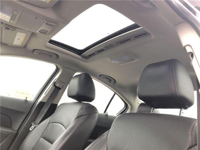 2016 Chevrolet Cruze 2LT, HTD LEATHER, ROOF, PIONEER, BLUETOOTH (Stk: 235450B) in BRAMPTON - Image 11 of 17