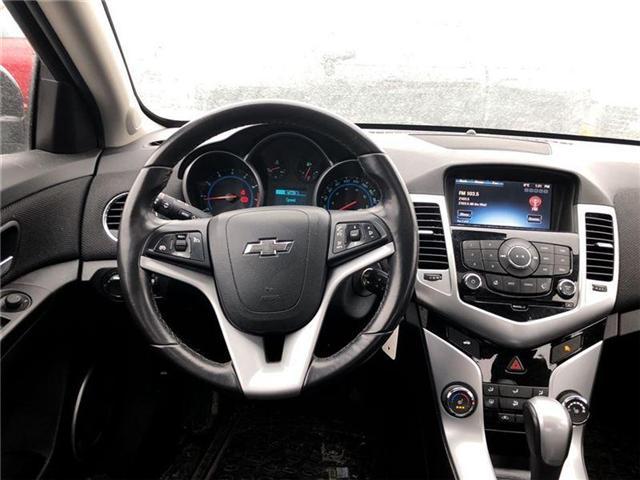 2016 Chevrolet Cruze 2LT, HTD LEATHER, ROOF, PIONEER, BLUETOOTH (Stk: 235450B) in BRAMPTON - Image 13 of 17