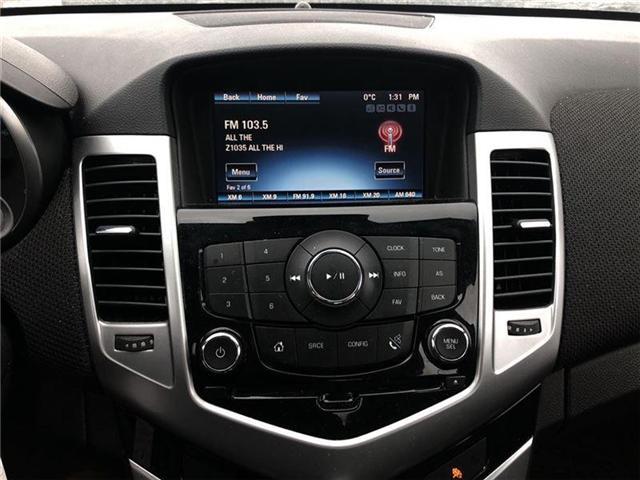 2016 Chevrolet Cruze 2LT, HTD LEATHER, ROOF, PIONEER, BLUETOOTH (Stk: 235450B) in BRAMPTON - Image 16 of 17