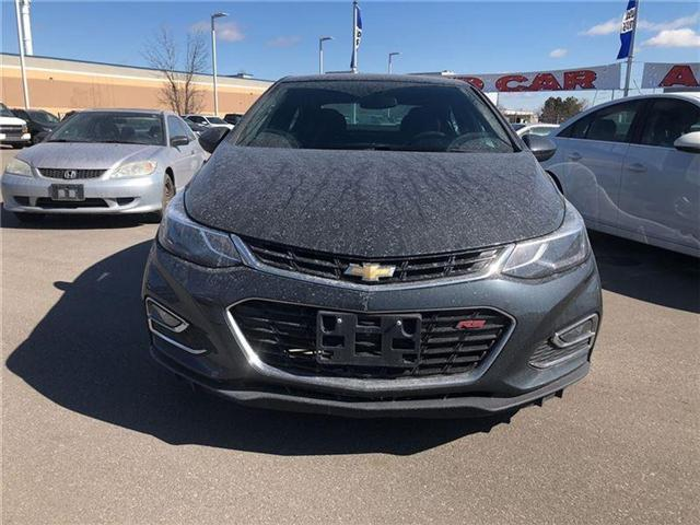 2017 Chevrolet Cruze RS|AUTO|BLUETOOTH|ONE OWNER| (Stk: 156808B) in BRAMPTON - Image 2 of 16