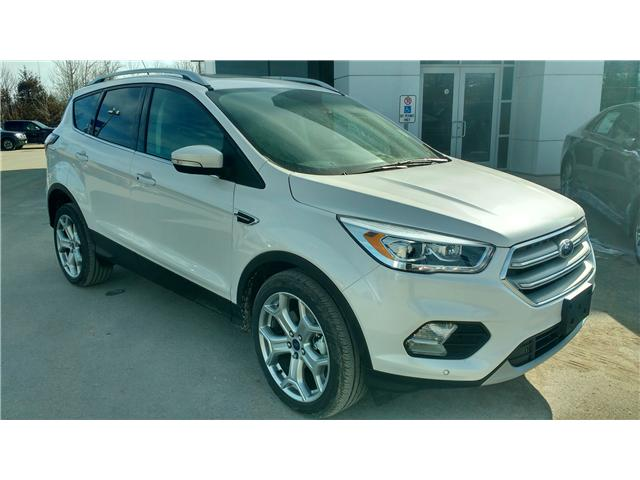 2018 Ford Escape Titanium (Stk: ES0901) in Bobcaygeon - Image 2 of 19