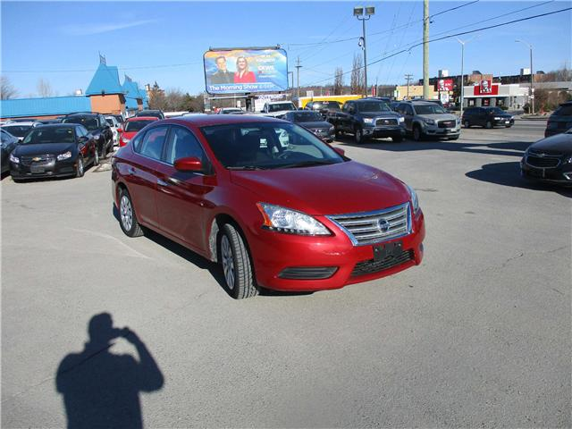 2013 Nissan Sentra 1.8 S (Stk: 180337) in North Bay - Image 1 of 12