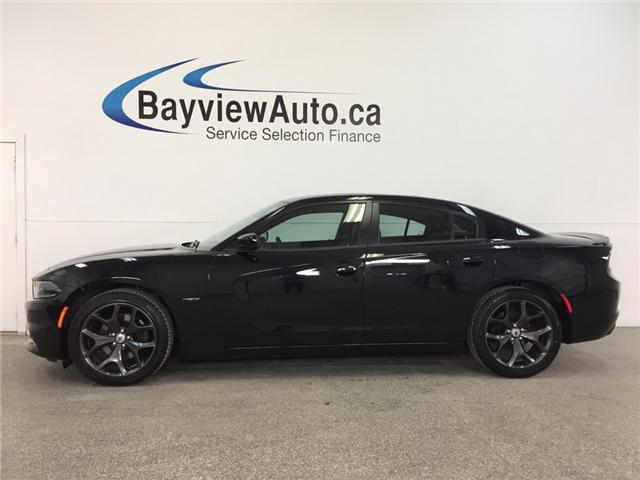 2017 Dodge CHARGER R/T- HEMI|REM STRT|ROOF|HTD/AC LTHR|NAV|BSA|BEATS! (Stk: 32339W) in Belleville - Image 1 of 30