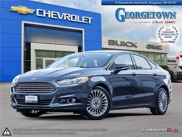 2016 Ford Fusion Titanium (Stk: 26768) in Georgetown - Image 1 of 28