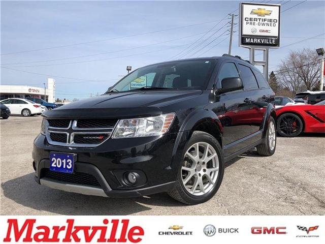 2013 Dodge Journey SXT-NEW BRAKES-CERTIFIED PRE-OWNED- 1 OWNER (Stk: 284871A) in Markham - Image 1 of 19