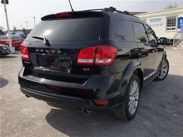 2013 Dodge Journey SXT-NEW BRAKES-CERTIFIED PRE-OWNED- 1 OWNER (Stk: 284871A) in Markham - Image 4 of 19