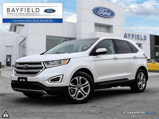 2017 Ford Edge Titanium (Stk: ED171389A) in Barrie - Image 1 of 27