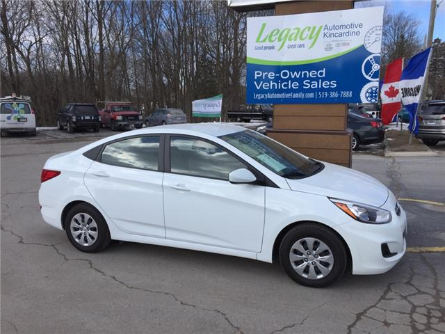 2017 Hyundai Accent GL (Stk: L7059) in Kincardine - Image 1 of 28