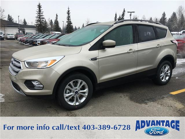 2018 Ford Escape SE (Stk: J-055) in Calgary - Image 1 of 5