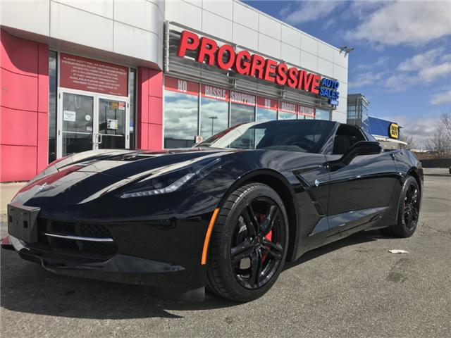 2017 Chevrolet Corvette Stingray (Stk: H5121317) in Sarnia - Image 1 of 14