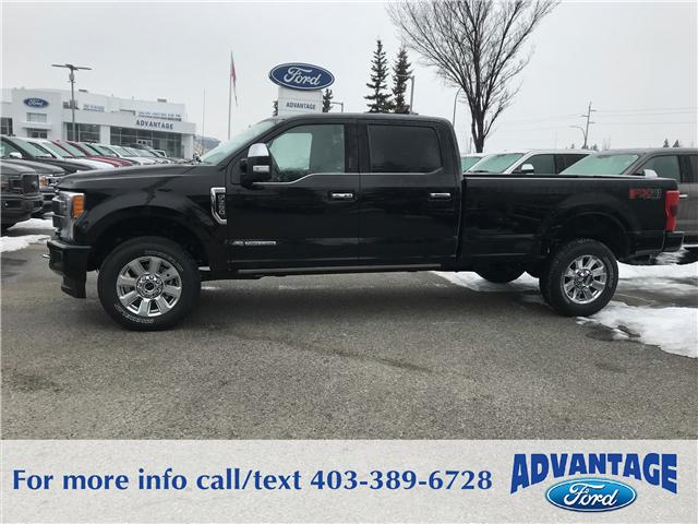 2018 Ford F-350 Platinum (Stk: J-546) in Calgary - Image 2 of 6