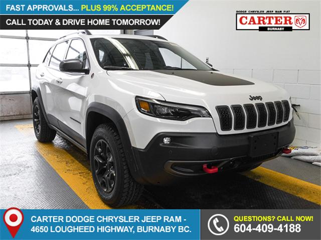 2019 Jeep Cherokee Trailhawk (Stk: K138280) in Burnaby - Image 1 of 6