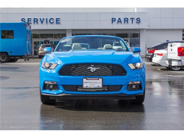 2017 Ford Mustang EcoBoost Premium (Stk: 7MU3878) in Surrey - Image 2 of 25