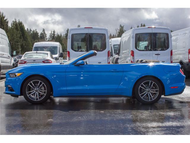 2017 Ford Mustang EcoBoost Premium (Stk: 7MU3878) in Surrey - Image 4 of 25
