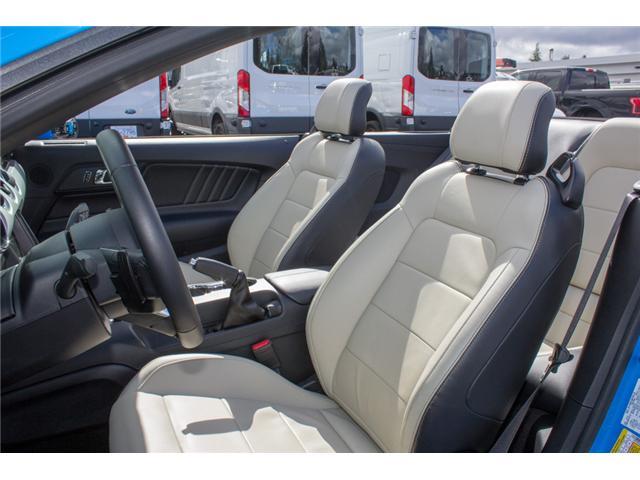 2017 Ford Mustang EcoBoost Premium (Stk: 7MU3878) in Surrey - Image 12 of 25