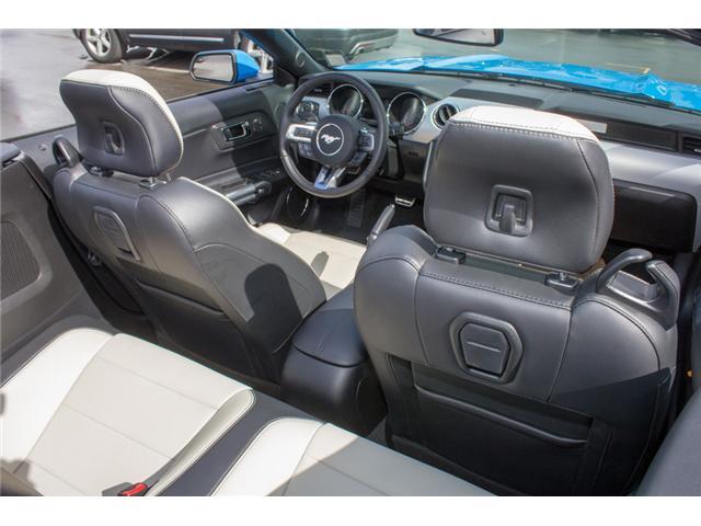 2017 Ford Mustang EcoBoost Premium (Stk: 7MU3878) in Surrey - Image 15 of 25