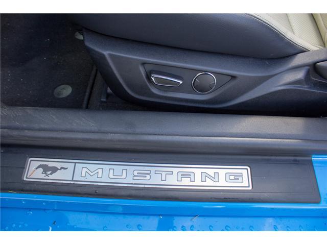 2017 Ford Mustang EcoBoost Premium (Stk: 7MU3878) in Surrey - Image 20 of 25