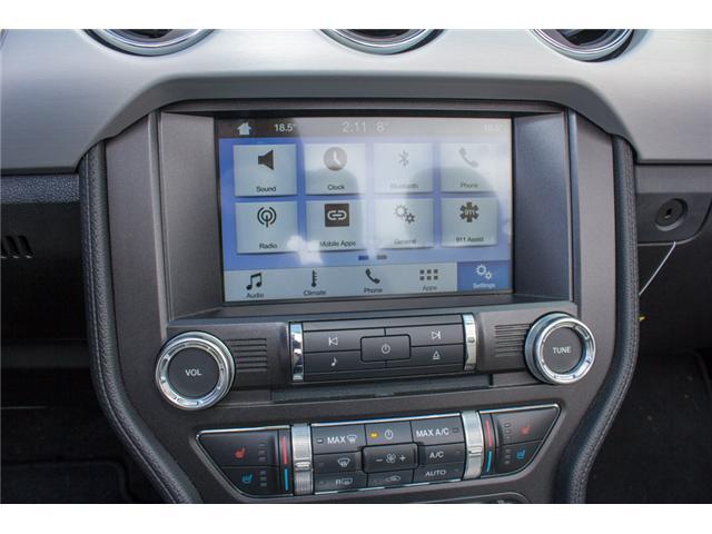 2017 Ford Mustang EcoBoost Premium (Stk: 7MU3878) in Surrey - Image 21 of 25