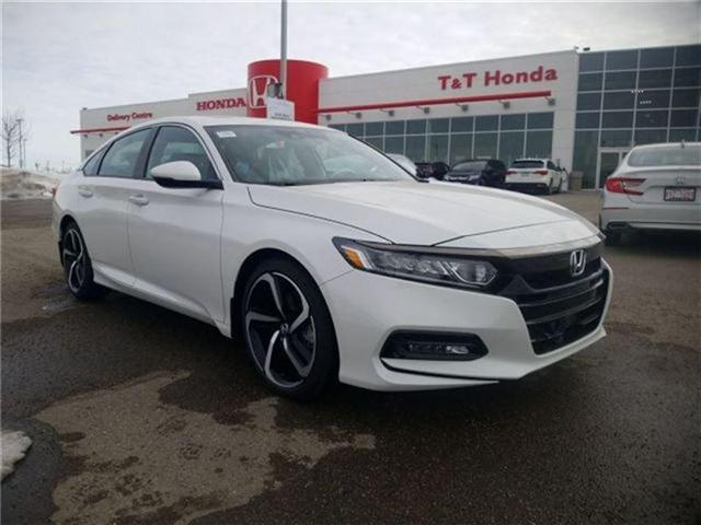2018 Honda Accord Sport (Stk: 2180706) in Calgary - Image 1 of 9