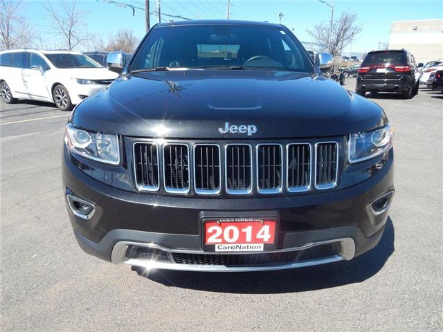 2014 Jeep Grand Cherokee Limited|LEATHER|SUNROOF|BACK UP CAM| (Stk: J184B) in Burlington - Image 2 of 27