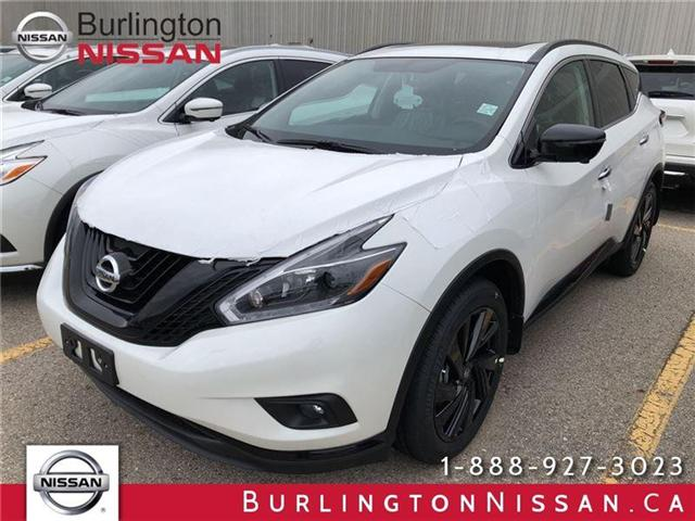 2018 Nissan Murano Midnight Edition (Stk: X8715) in Burlington - Image 1 of 5