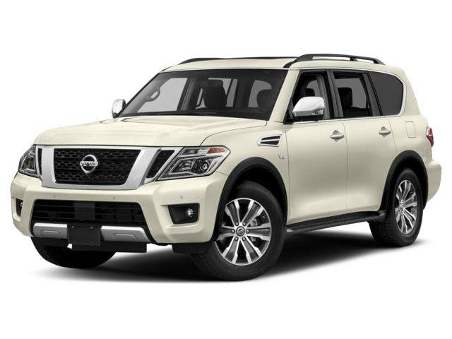 2018 Nissan Armada Platinum (Stk: X4342) in Burlington - Image 1 of 9