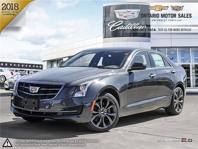 2018 Cadillac ATS 2.0L Turbo Base (Stk: 8152351) in Oshawa - Image 1 of 18
