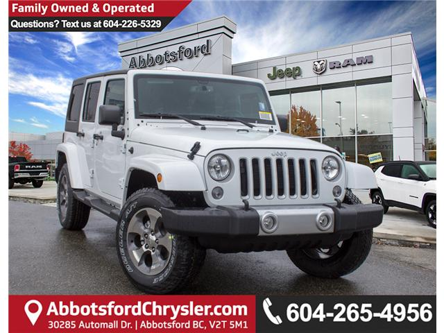 2018 Jeep Wrangler JK Unlimited Sahara (Stk: J863973) in Abbotsford - Image 1 of 28