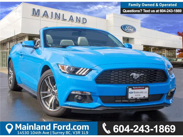 2017 Ford Mustang EcoBoost Premium (Stk: 7MU3878) in Surrey - Image 1 of 25