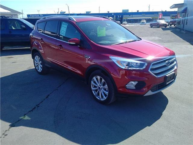 2017 Ford Escape Titanium (Stk: 3472D) in Thunder Bay - Image 1 of 18