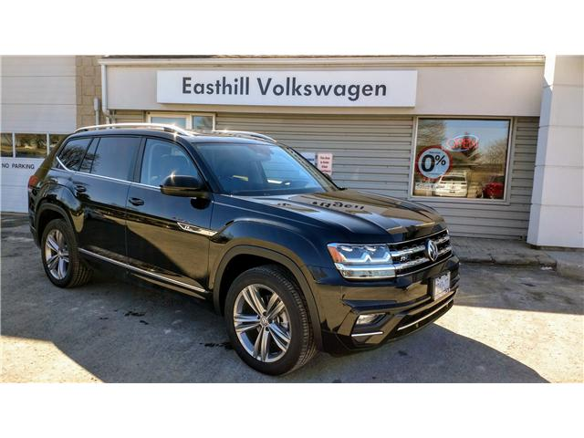 2018 Volkswagen Atlas 3.6 FSI Highline (Stk: 186067) in Walkerton - Image 1 of 26
