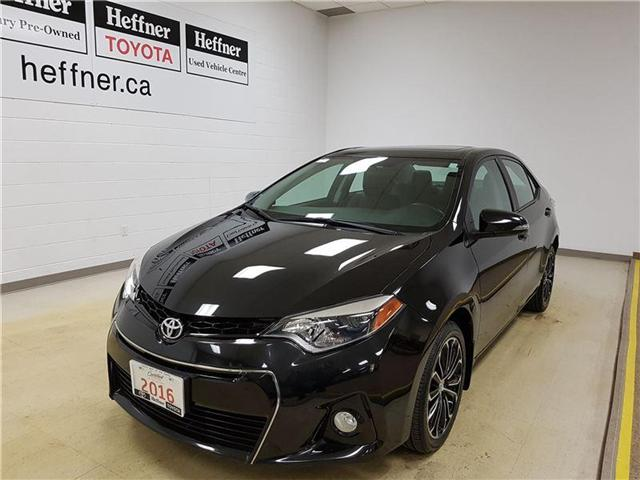 2016 Toyota Corolla  (Stk: 185283) in Kitchener - Image 1 of 21