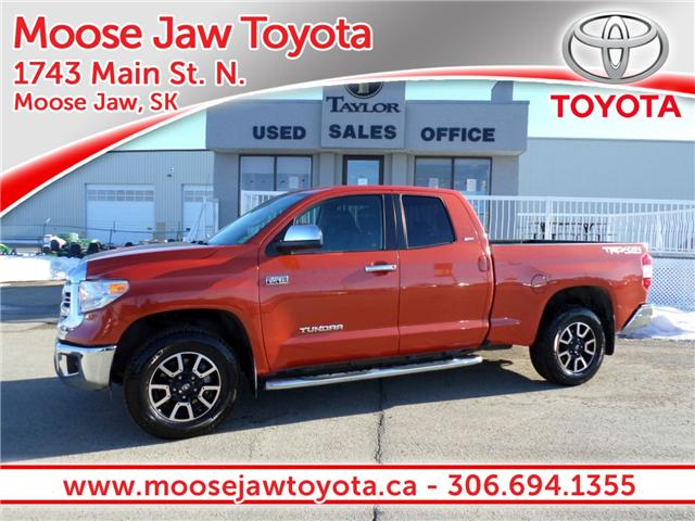 2017 Toyota Tundra  (Stk: 1890681) in Moose Jaw - Image 1 of 20