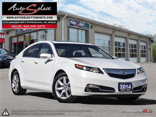 2014 Acura TL  (Stk: 14AC1LE) in Scarborough - Image 1 of 28
