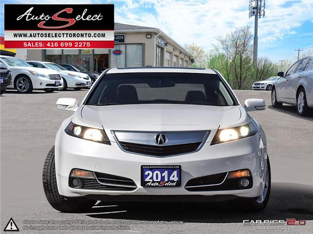 2014 Acura TL  (Stk: 14AC1LE) in Scarborough - Image 2 of 28