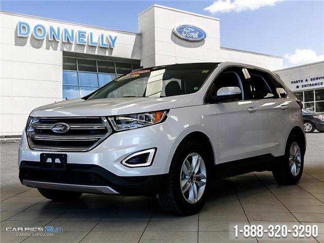2017 Ford Edge SEL (Stk: DQ2102) in Ottawa - Image 1 of 26