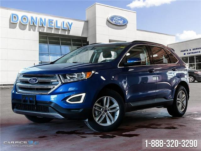 2018 Ford Edge SEL (Stk: DR658) in Ottawa - Image 1 of 27