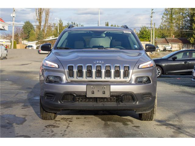 2018 Jeep Cherokee Sport (Stk: J517553) in Abbotsford - Image 2 of 25