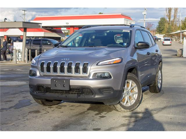 2018 Jeep Cherokee Sport (Stk: J517553) in Abbotsford - Image 3 of 25
