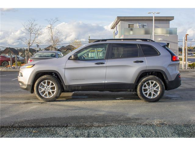 2018 Jeep Cherokee Sport (Stk: J517553) in Abbotsford - Image 4 of 25