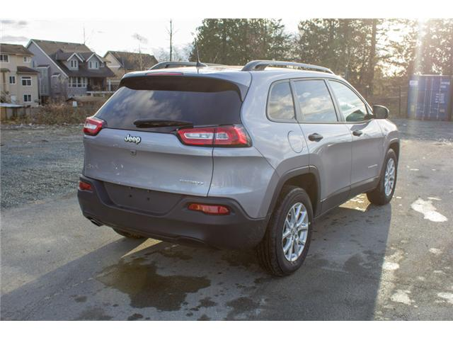2018 Jeep Cherokee Sport (Stk: J517553) in Abbotsford - Image 7 of 25