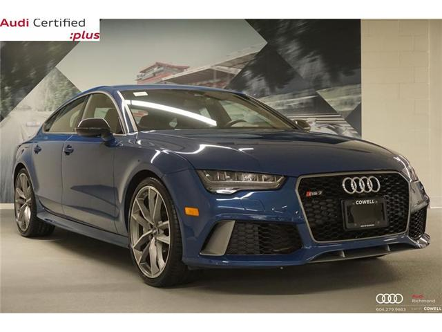 2017 Audi RS 7 4.0T performance (Stk: AULK1184A) in Richmond - Image 1 of 22