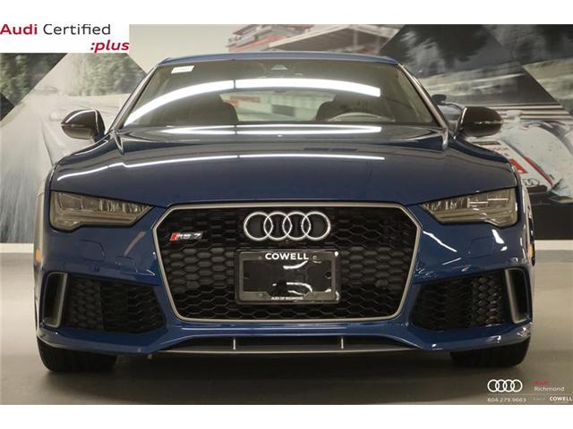 2017 Audi RS 7 4.0T performance (Stk: AULK1184A) in Richmond - Image 2 of 22